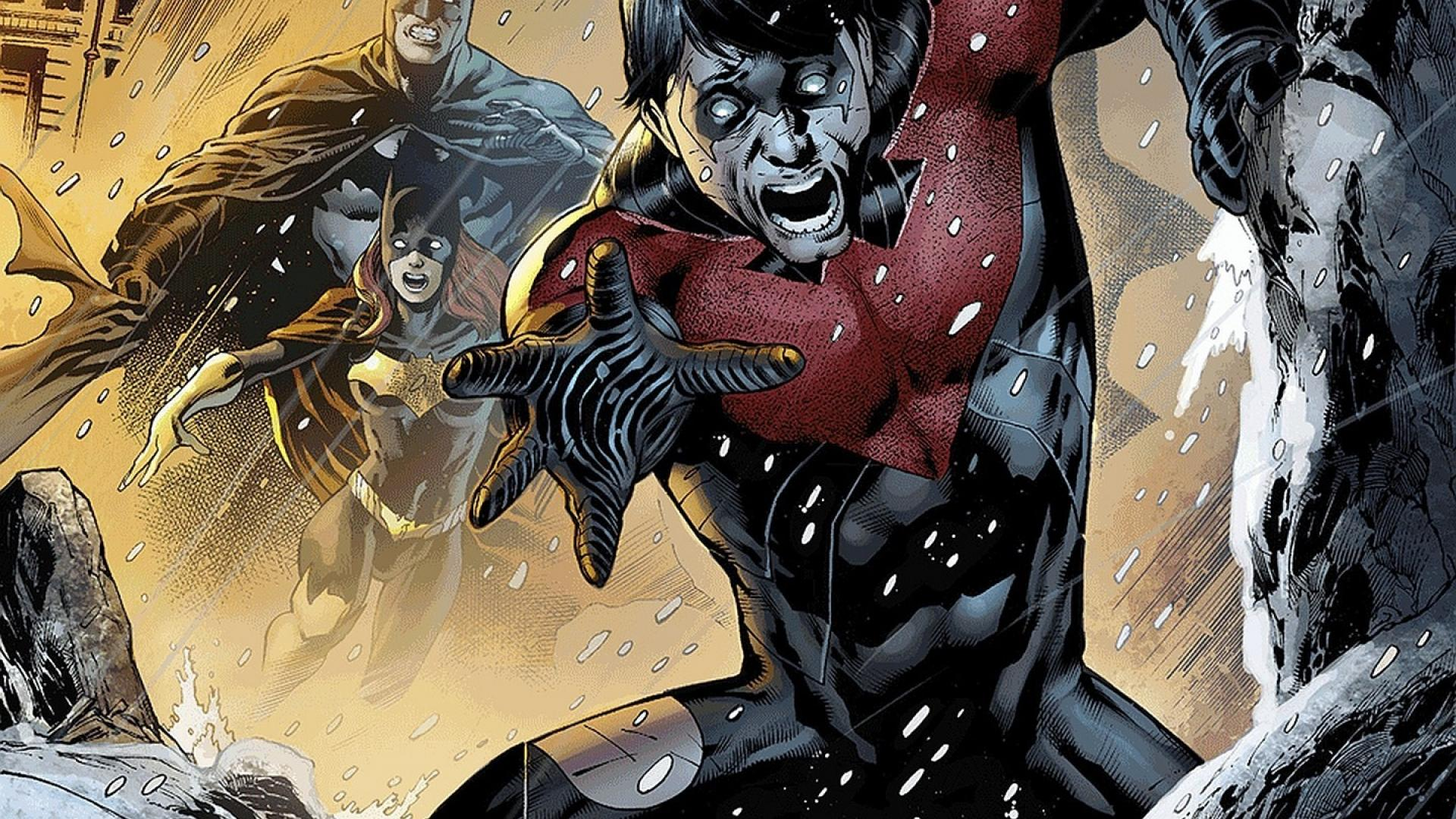 Batman dc comics batgirl nightwing wallpaper 43945 1920x1080