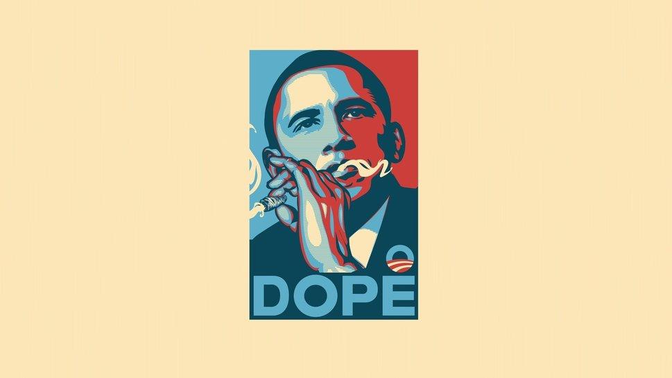 Minimalism barack obama dope art art wallpaper   ForWallpapercom 969x545