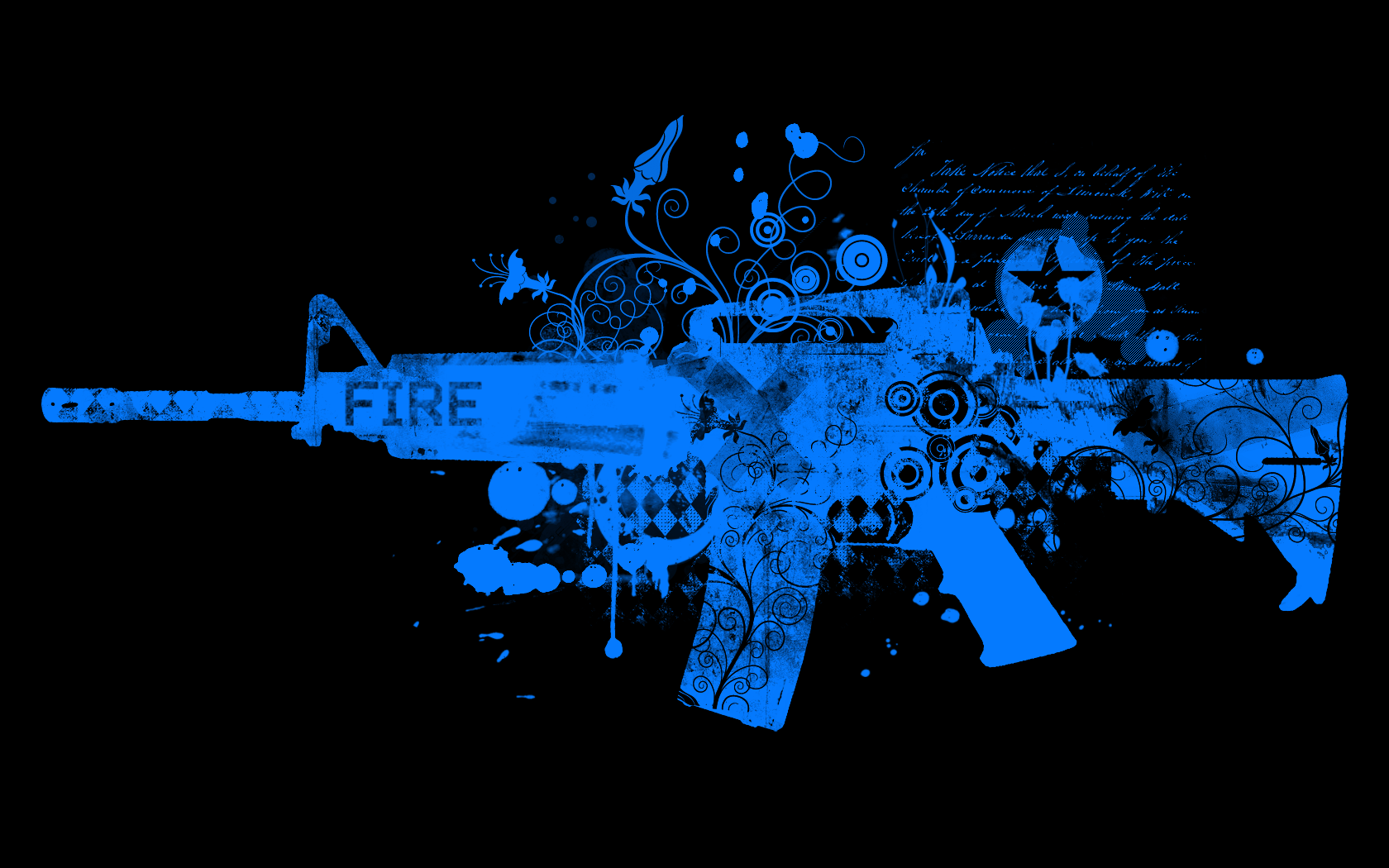 ar 15 firearm colt m4 abstract desktop 1680x1050 hd wallpaper 164101 1680x1050