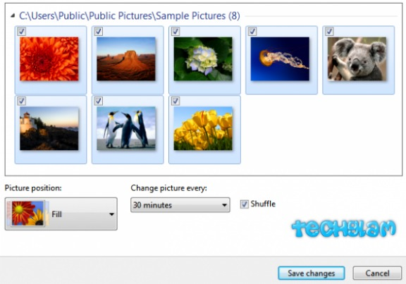 microsoft desktop wallpaper slideshow