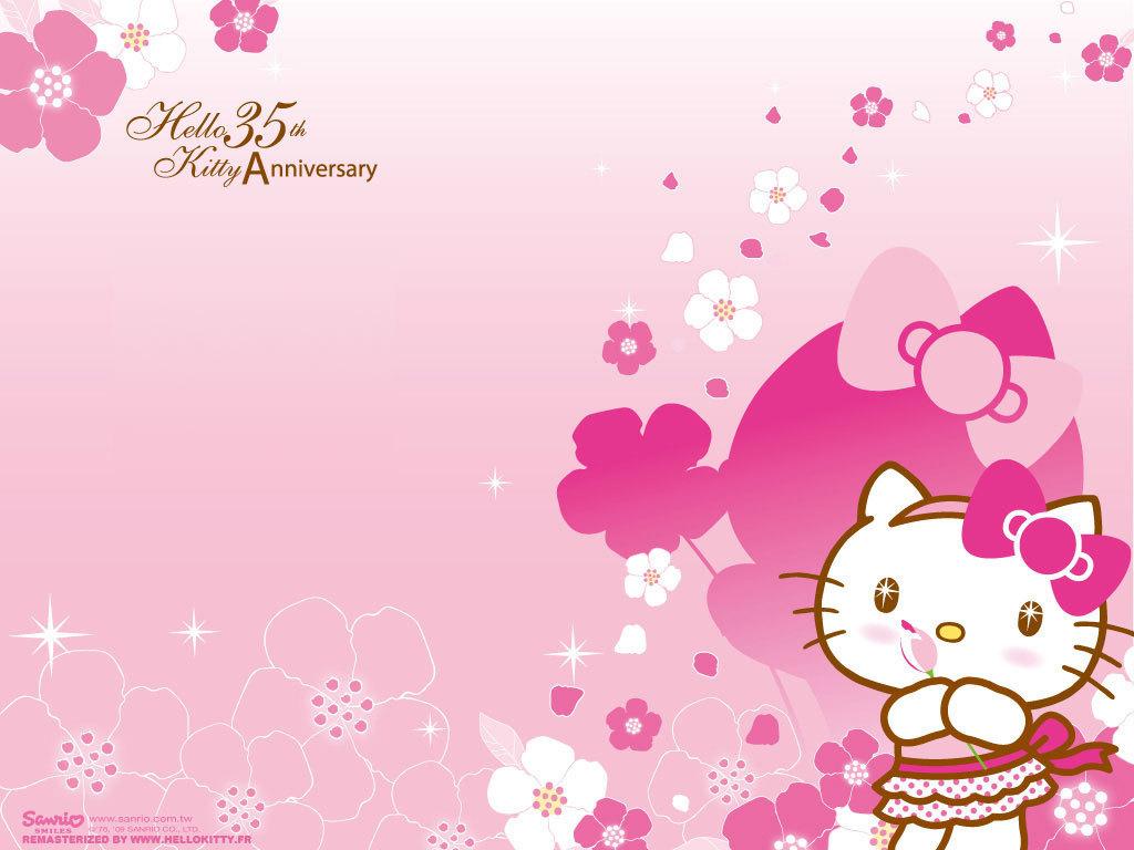 Hello Kitty Wallpaper   Hello Kitty Wallpaper 8257470 1024x768