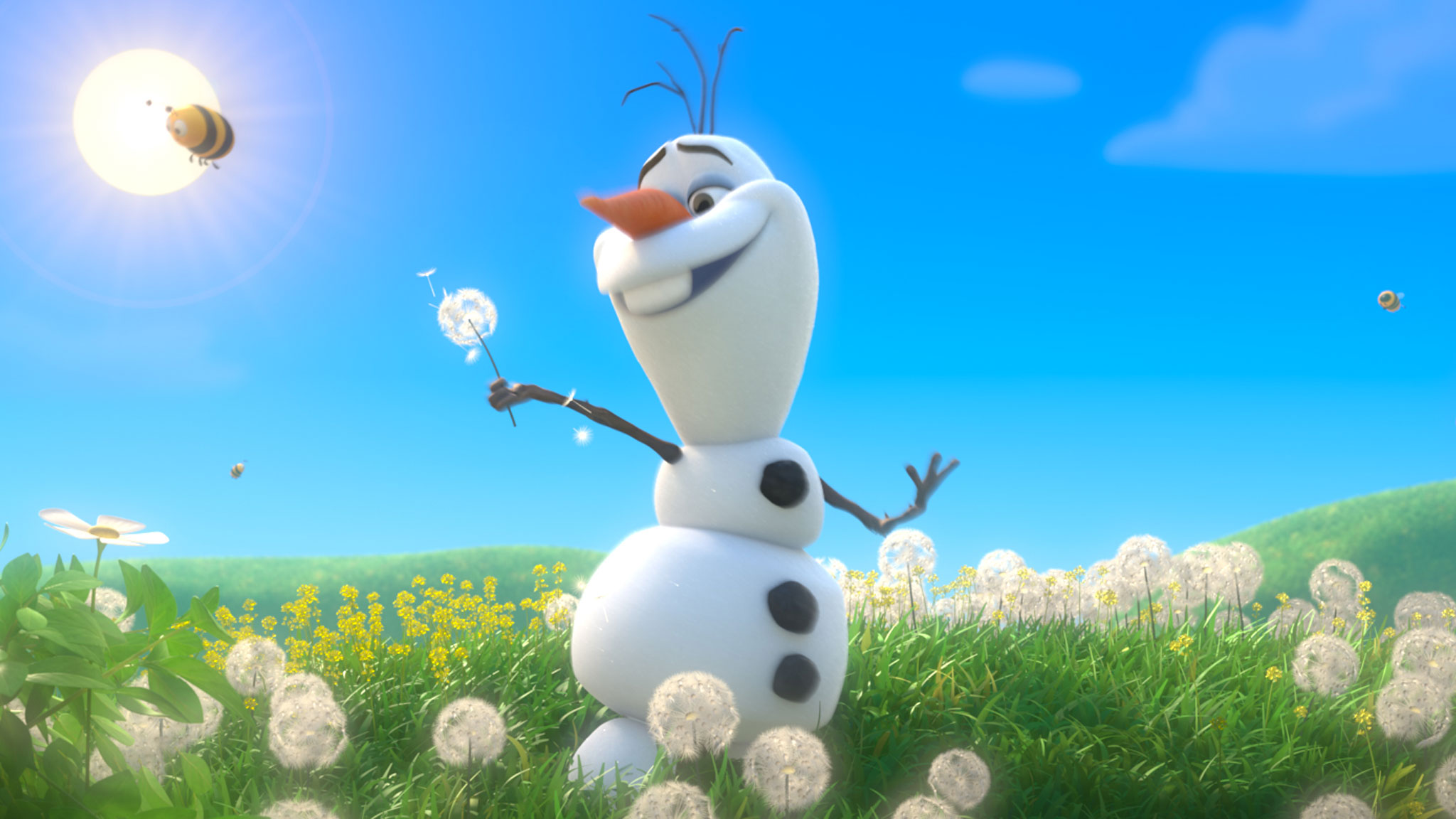 Olaf The Snowman Wallpaper Hd Images Pictures   Becuo 2048x1152