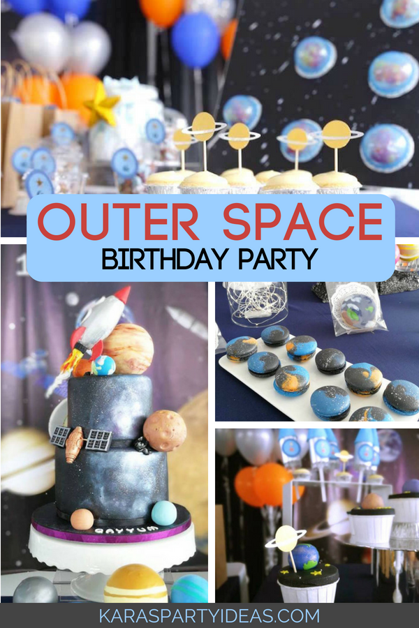 Outer Space Birthday Party Space Star Wars Party Ideas Outer 600x900