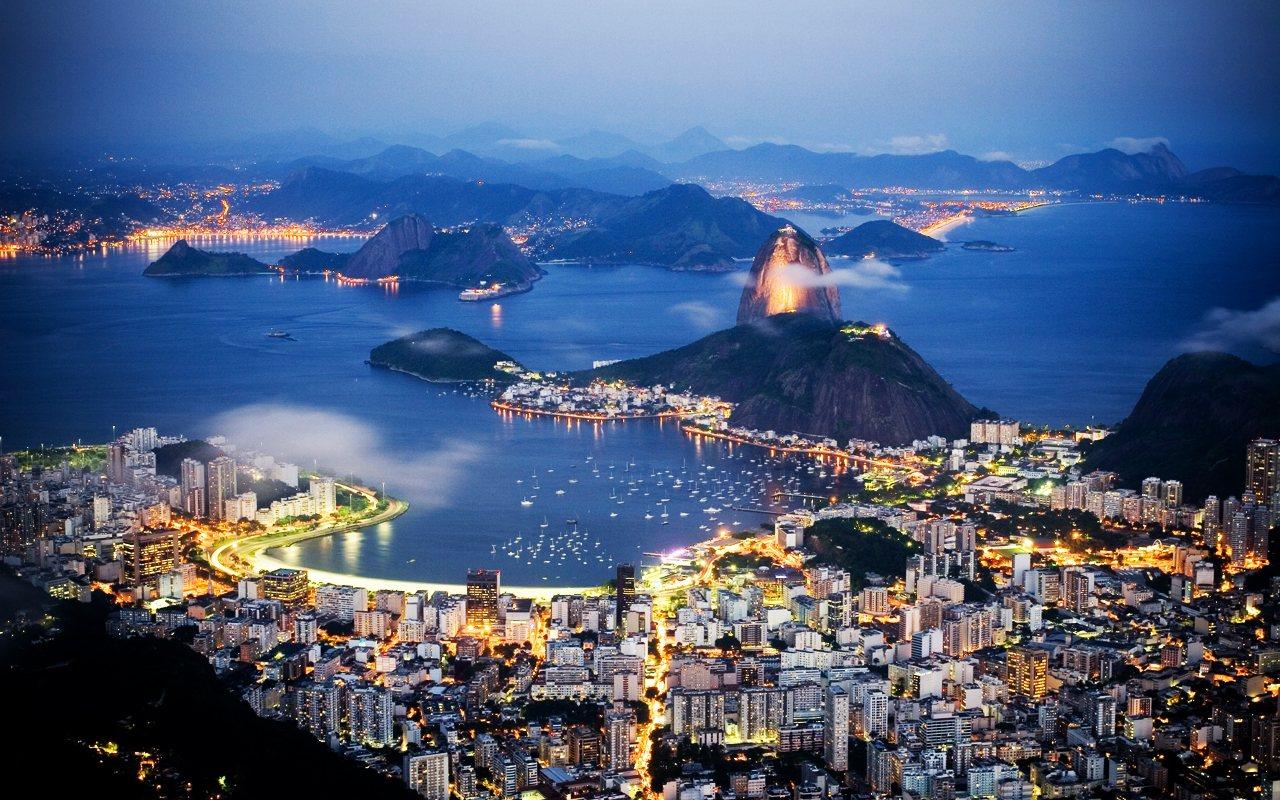 Paisajes Brasil Rio de Janeiro Bela Paisagem wallpaper download 1280x800
