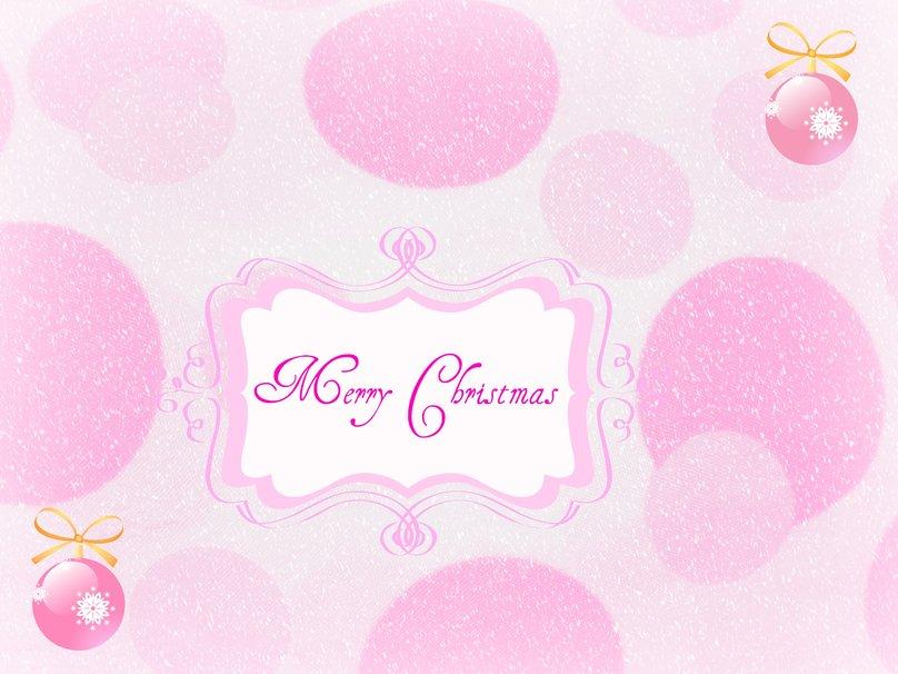 Pink Christmas wallpaper   ForWallpapercom 808x606
