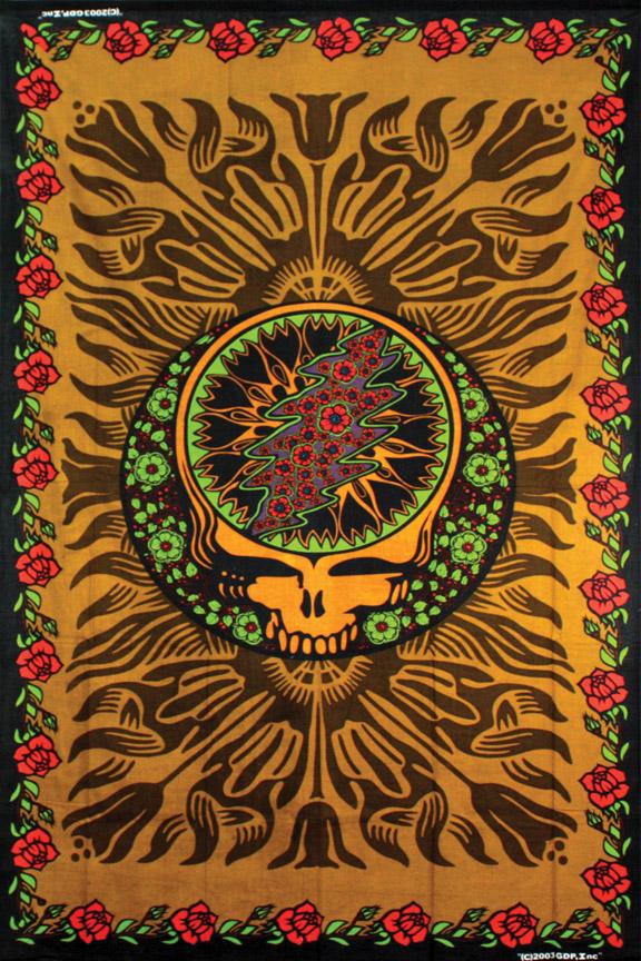 Grateful Dead Tapestries   Sunshine Joy Hippie Tapestries Grateful 576x864