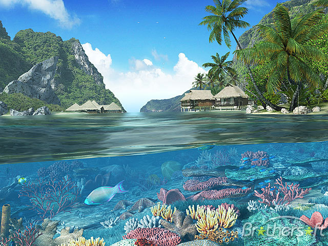 island 3d picture wallpaper - photo #33