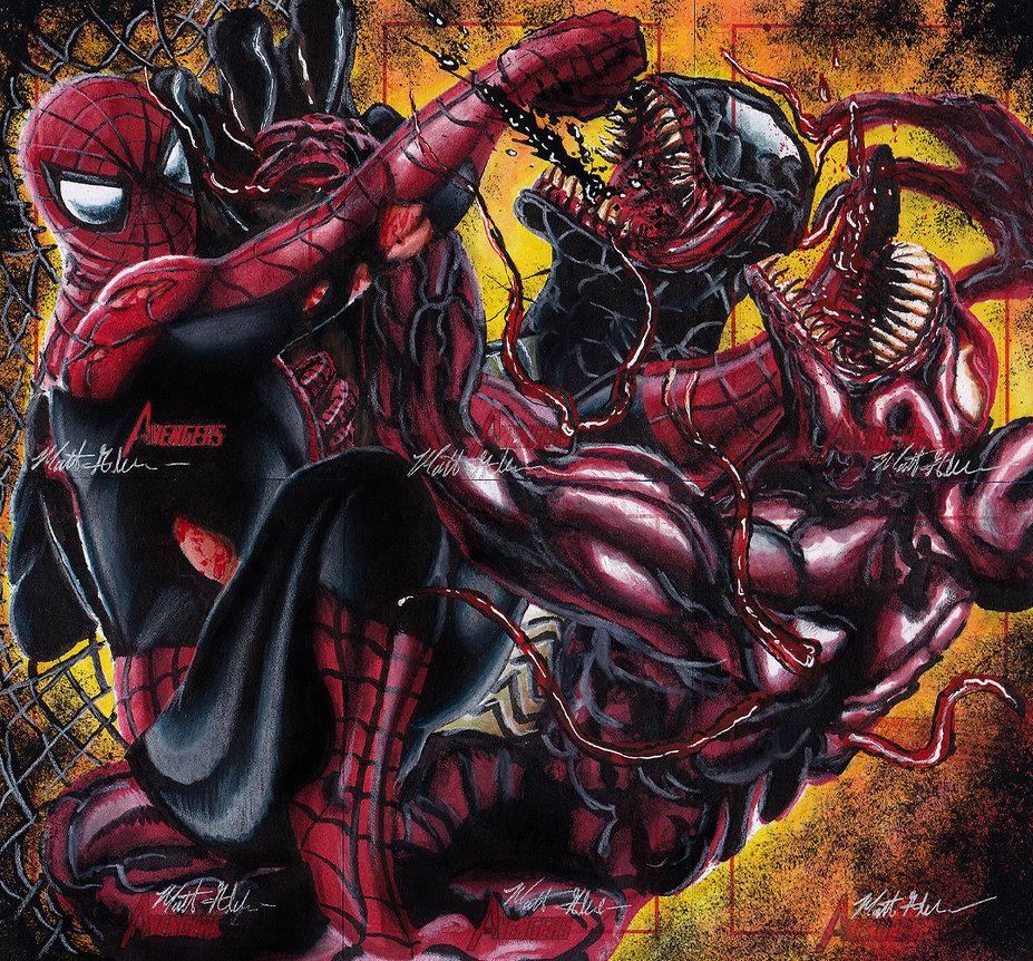 Venom Wallpapers: Venom Vs Carnage Wallpaper