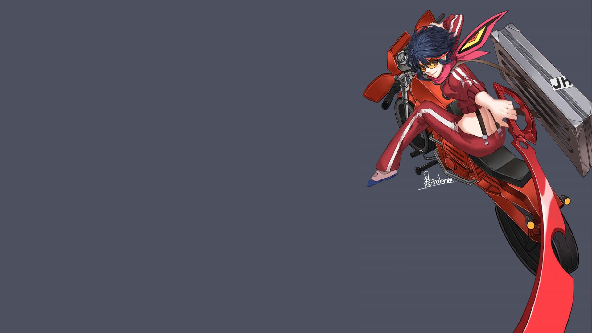 ryuko kill la kill anime girl hd wallpaper image picture 1920x1080 6q 1920x1080