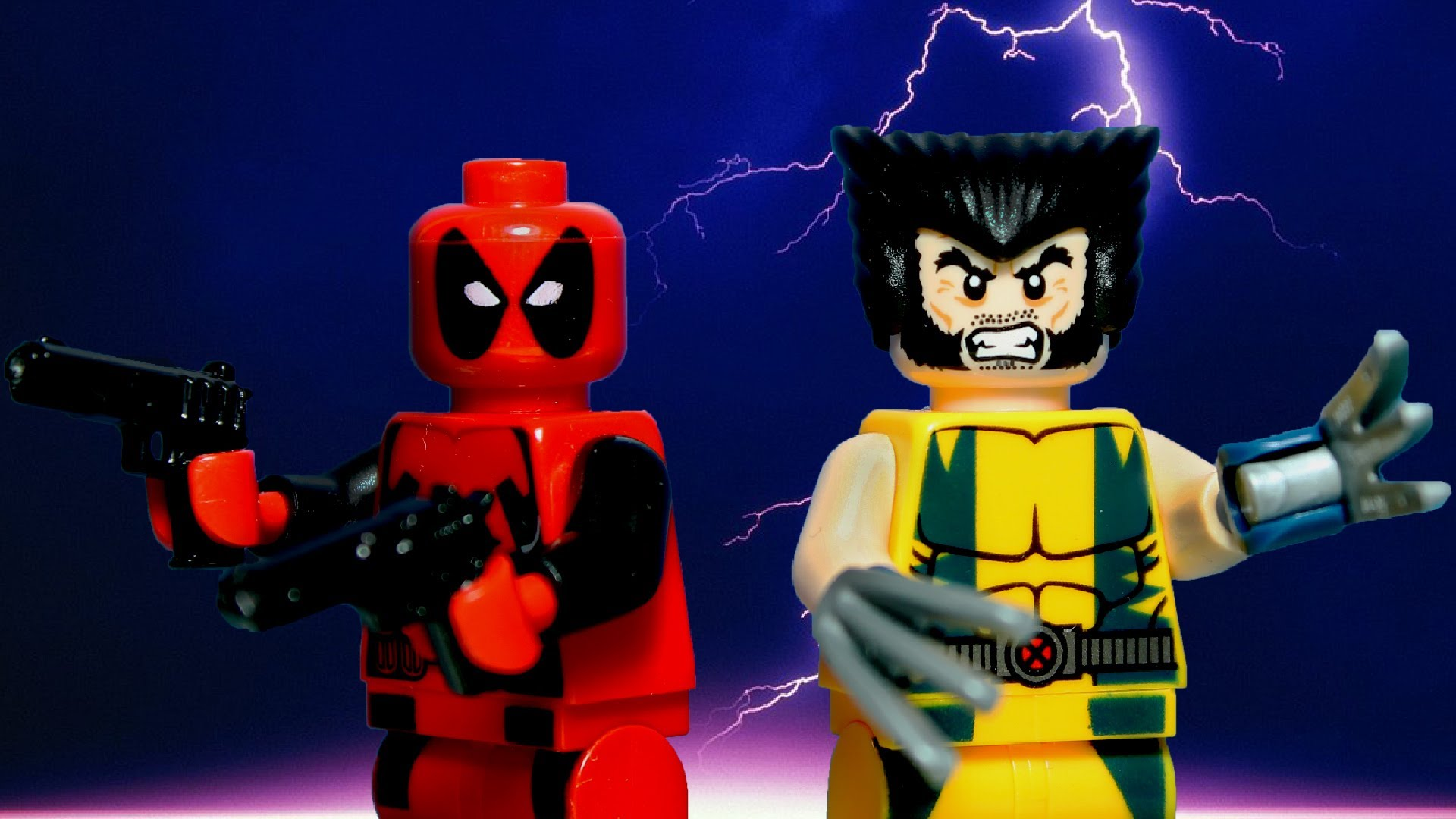 LEGO Super Heroes   WolverineDeadpool Team Up 1920x1080