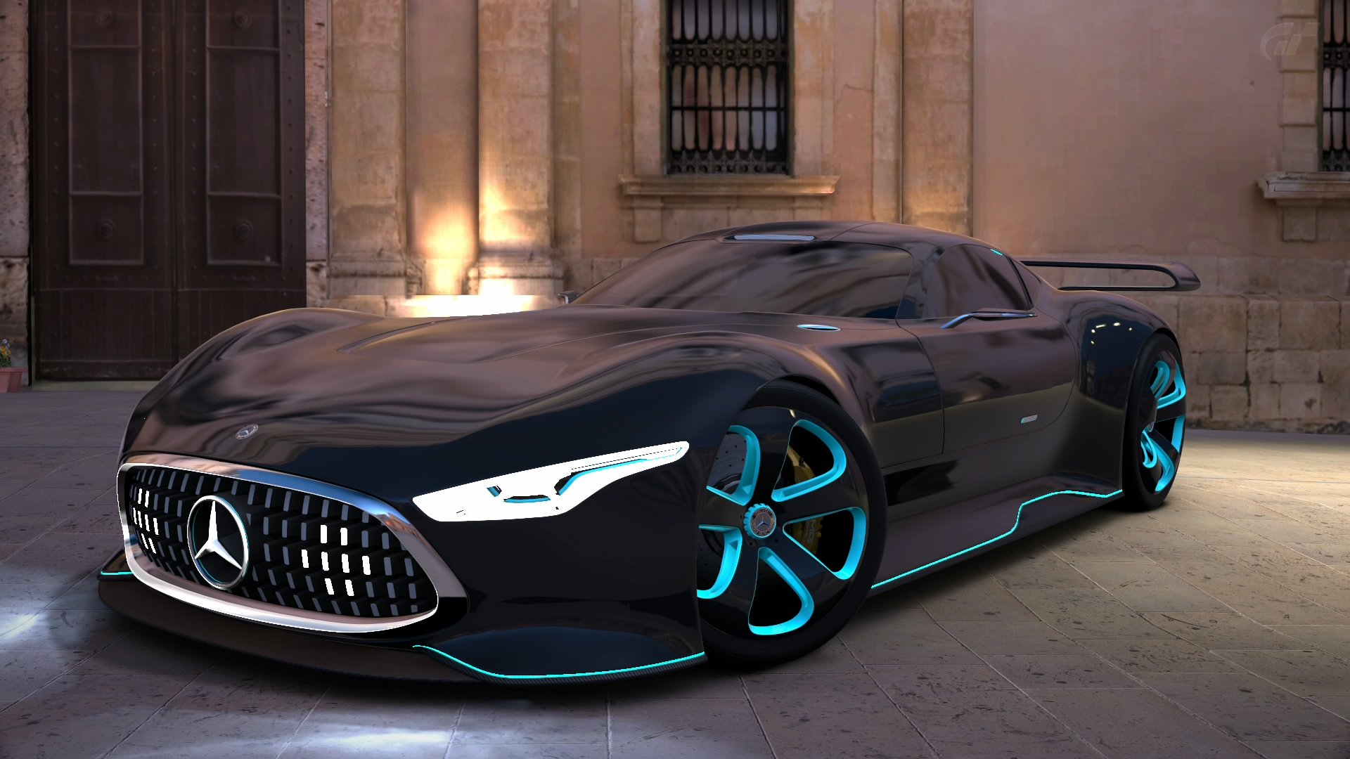 Gran Turismo 6 mercedes benz amg vision GT by 1920x1080