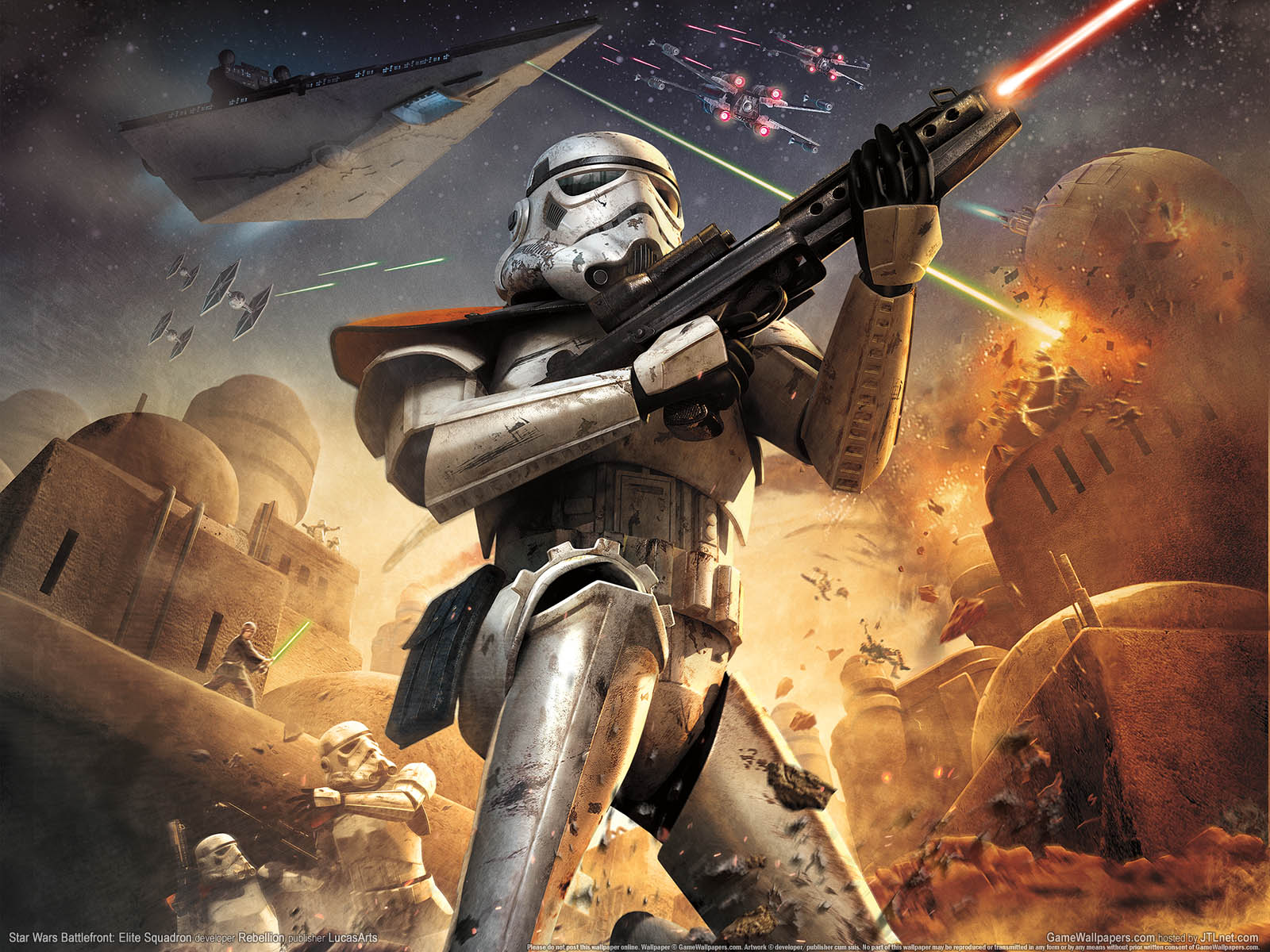 Free Download Star Wars Battlefront Elite Squadron Wallpapers Hd
