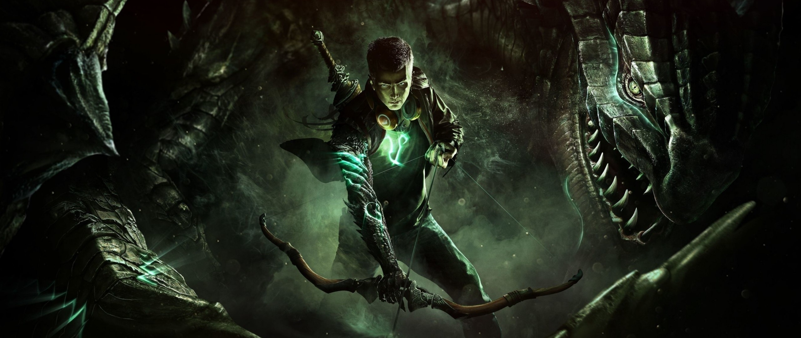 HD Background Scalebound Game Character Platinum Games 2560x1080
