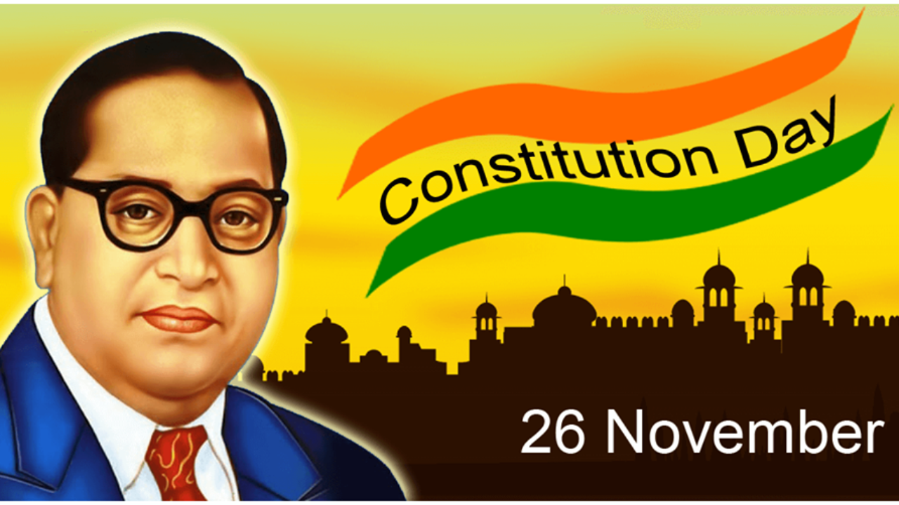 26th Nov 2018 Constitution Day Of India Quotes Status Wishes 1280x720