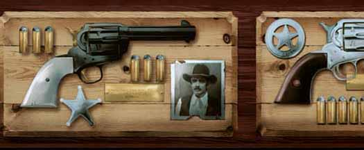 Old West Ammo Wallpaper Border   Wallpaper Border Wallpaper inc 525x216