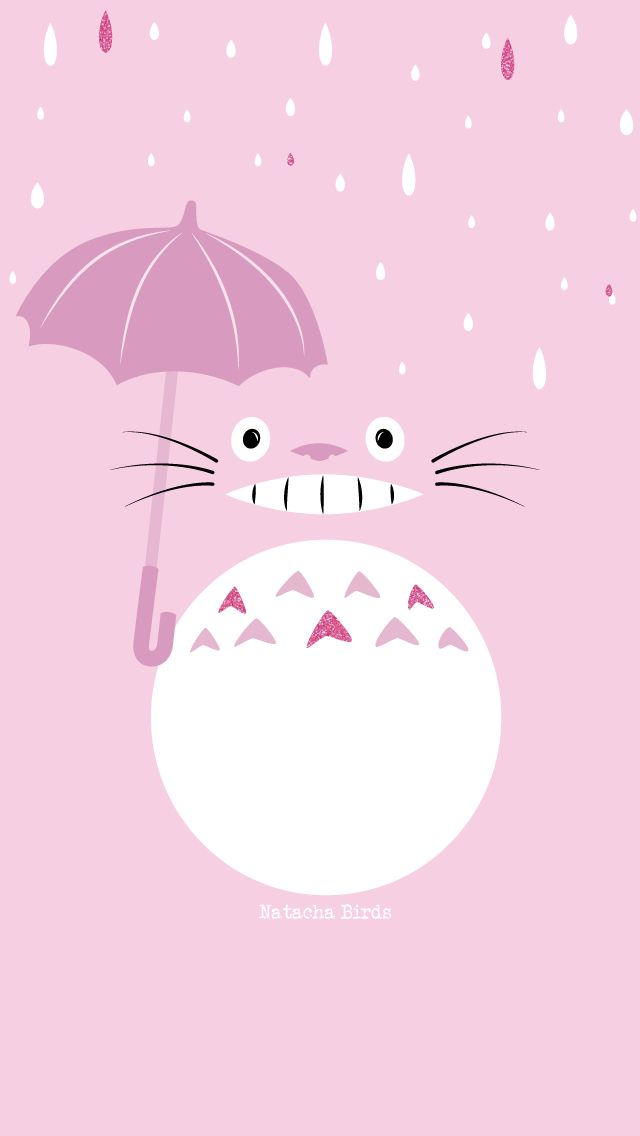 48+ Pink Totoro Wallpaper on WallpaperSafari