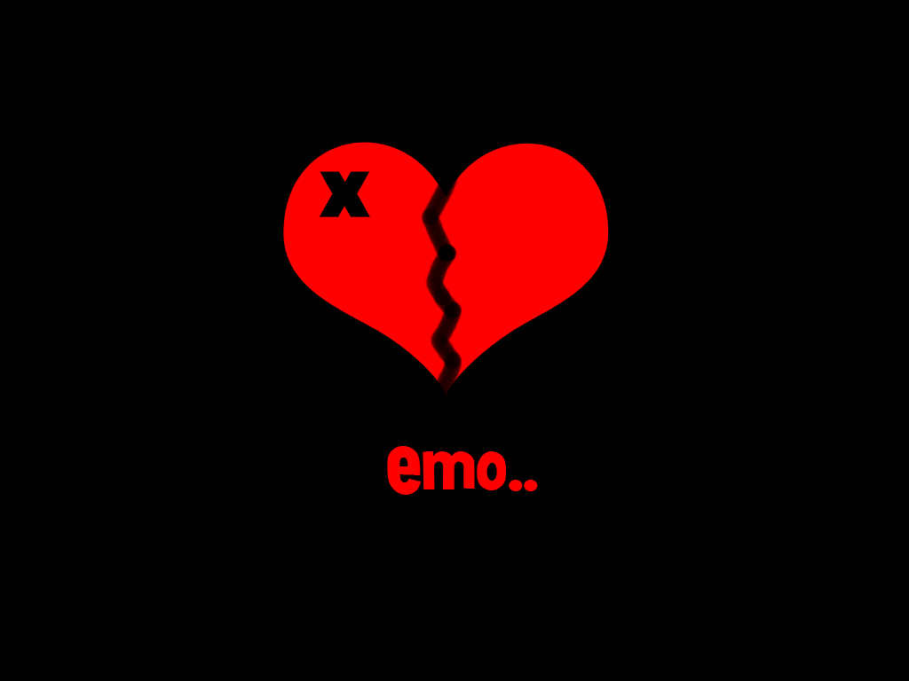 Emo Love Wallpaper   Emo Love Wallpaper 12230759 1024x768