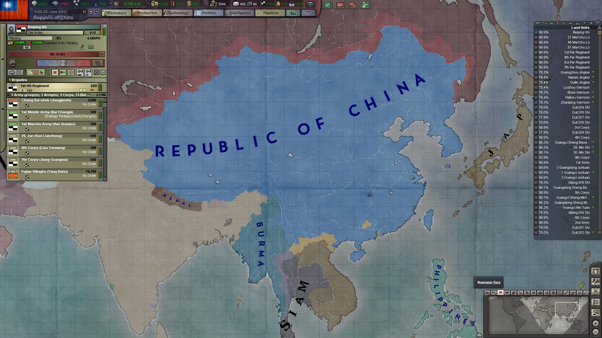 Best China beats Nippon HOI3BlackIce paradoxplaza 1920x1080