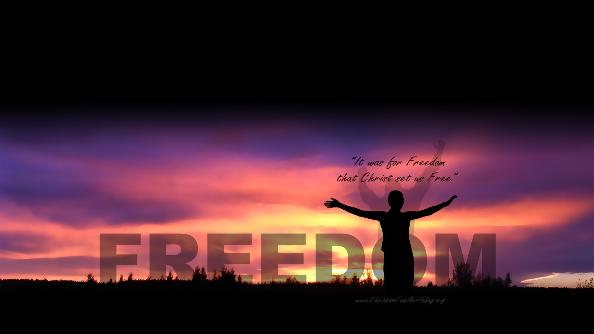 Freedom Wallpaper   Christian Wallpapers and Backgrounds 1920x1080