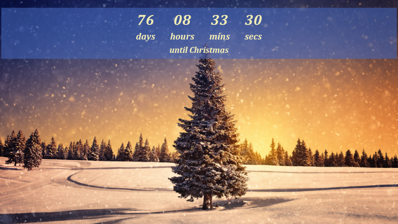 description it s fun christmas countdown can countdown to christmas 1280x720