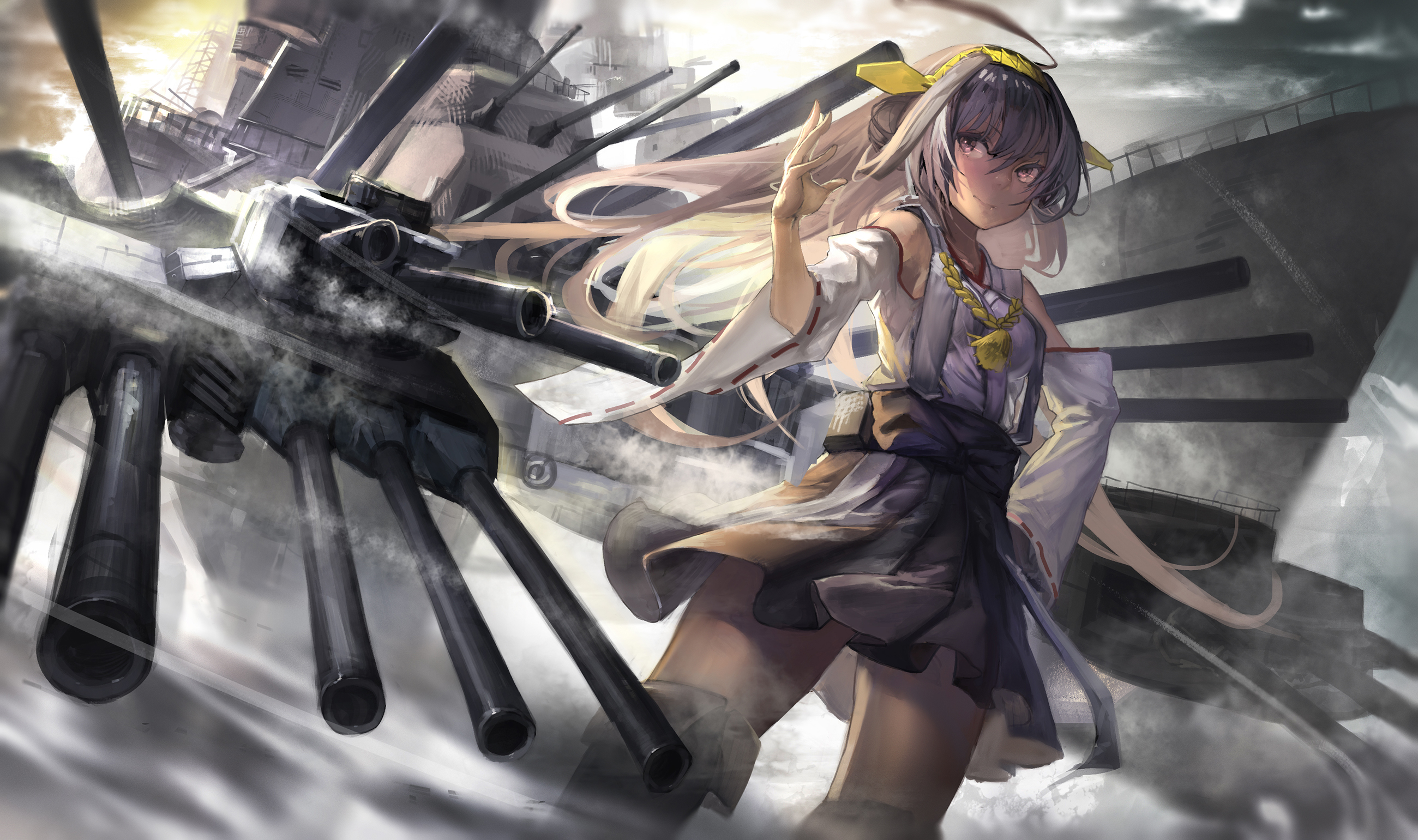 98 Haruna Kancolle HD Wallpapers Background Images   Wallpaper 2600x1541