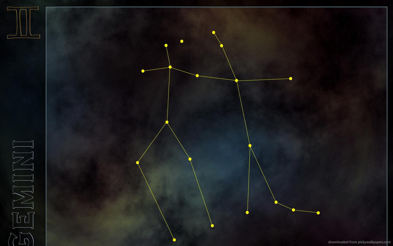 Download 1280x800 Gemini Constellation Wallpaper 1280x800