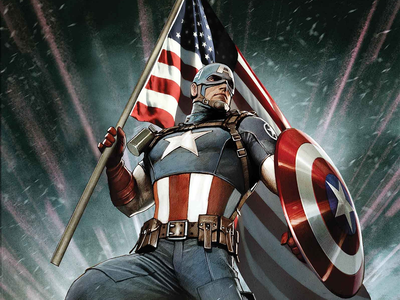 Captain America Computer Wallpapers Desktop Backgrounds 1600x1200 1600x1200