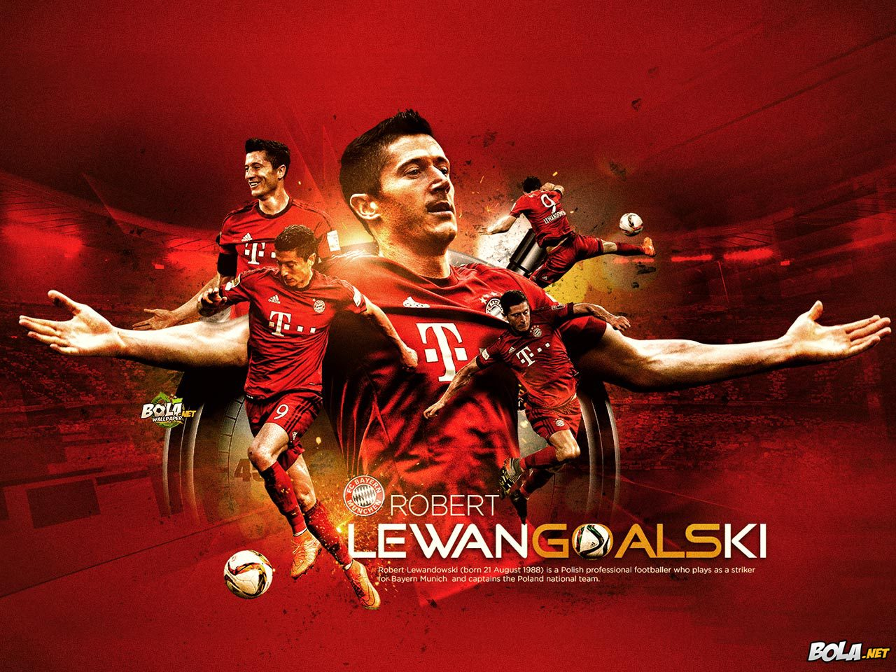 Free Download Wallpaper Robert Lewandowski Bolanet