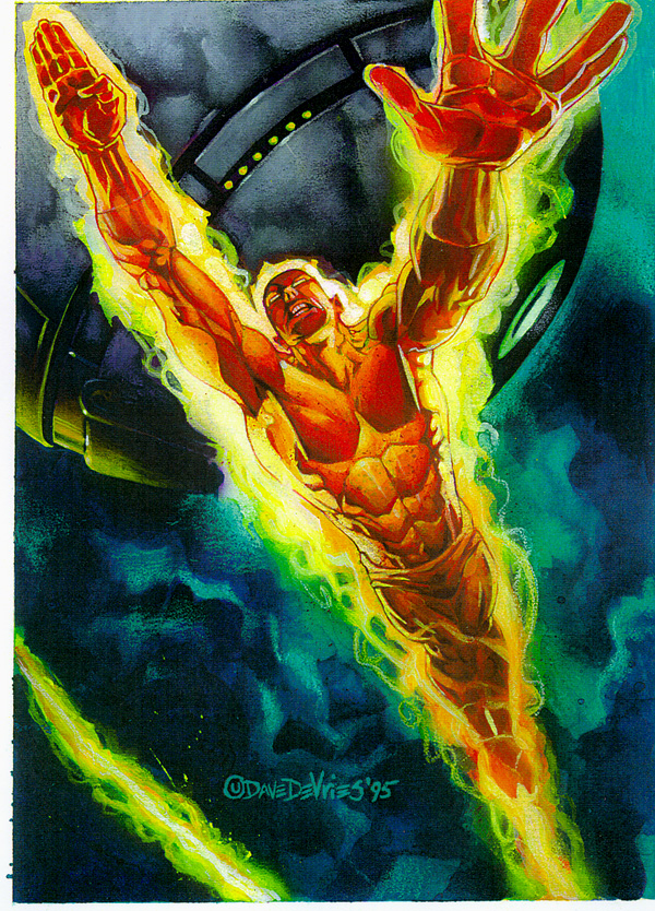 Photographs human torch wallpaper   26wallpasa 600x834