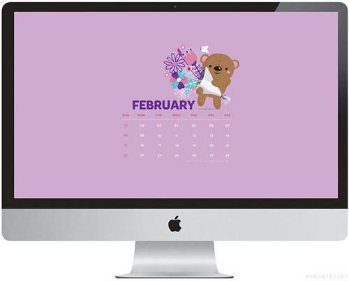 Download February 2015 desktop iPhone iPad lock screen wallpaper 500x403