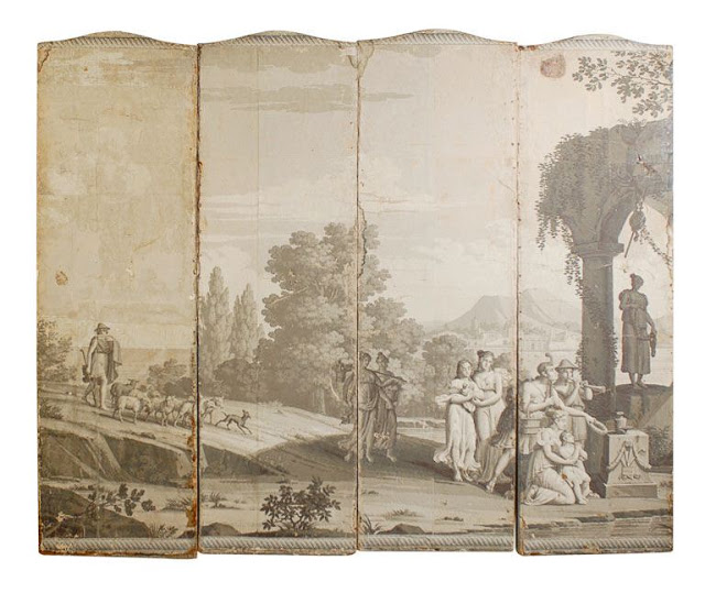 Dibs   Zuber Wallpaper Panels   9500 18th century Zuber wallpaper 640x549