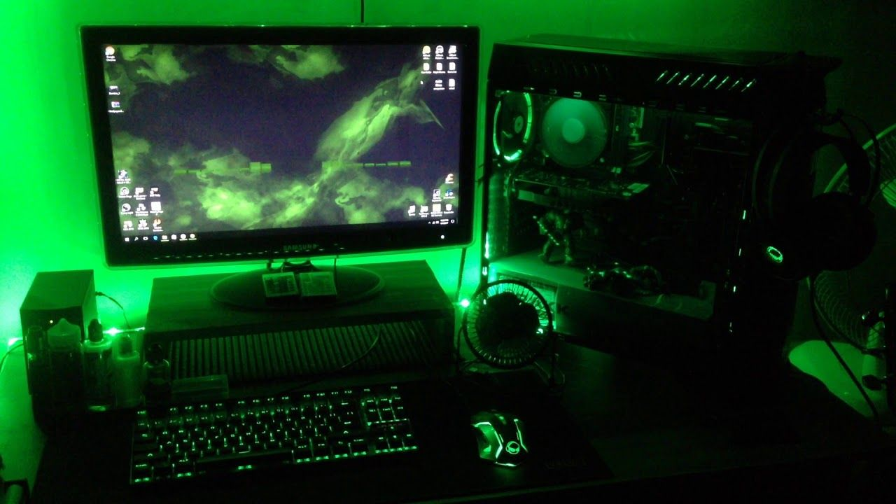Green Gaming Wallpapers   Top Green Gaming Backgrounds 1280x720