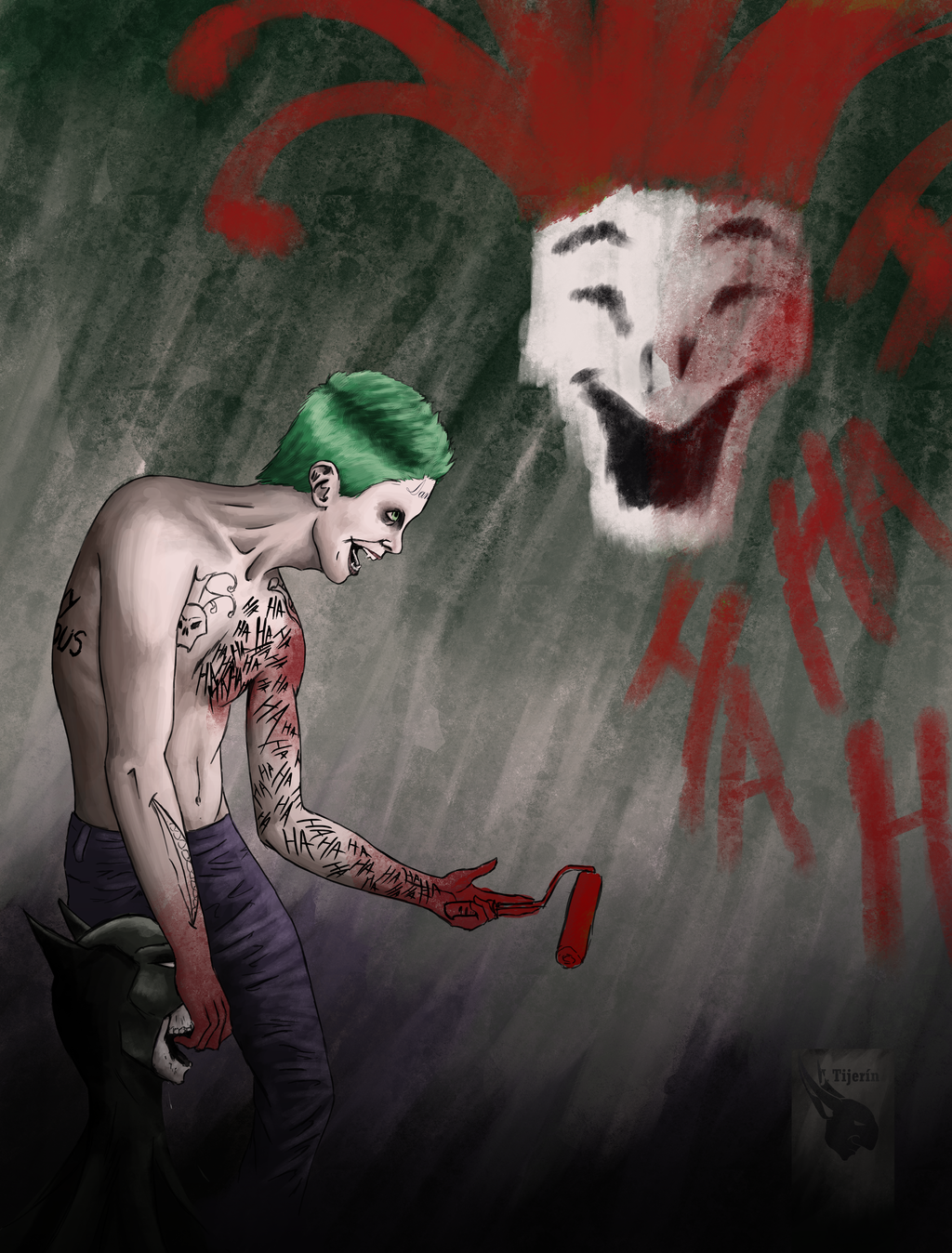 Suicide Squad Joker by goblinight 1024x1348