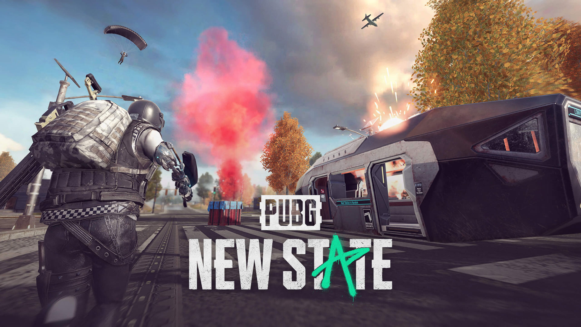 PUBG New State Wallpaper in 1920x1080 1920x1080