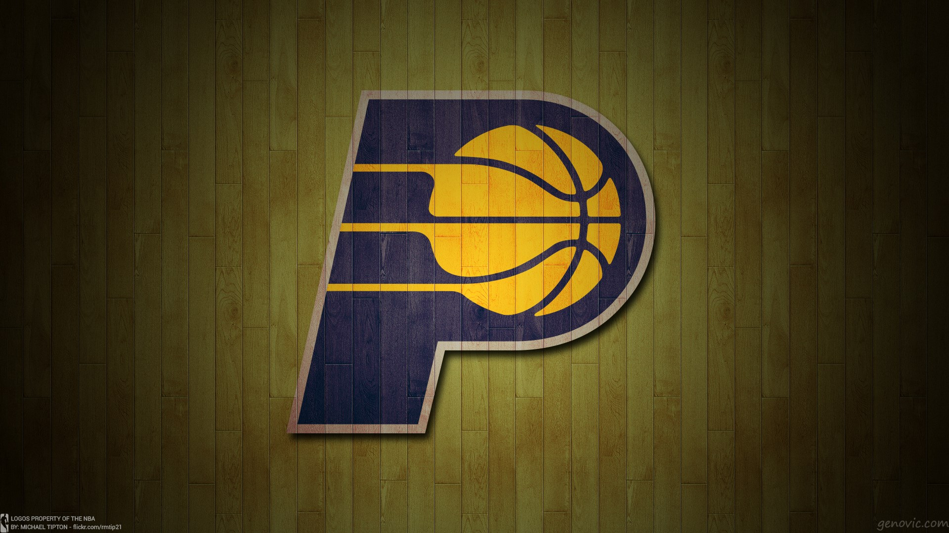 Indiana Pacers Basketball Team Logo Wallpapers HD 1920x1080