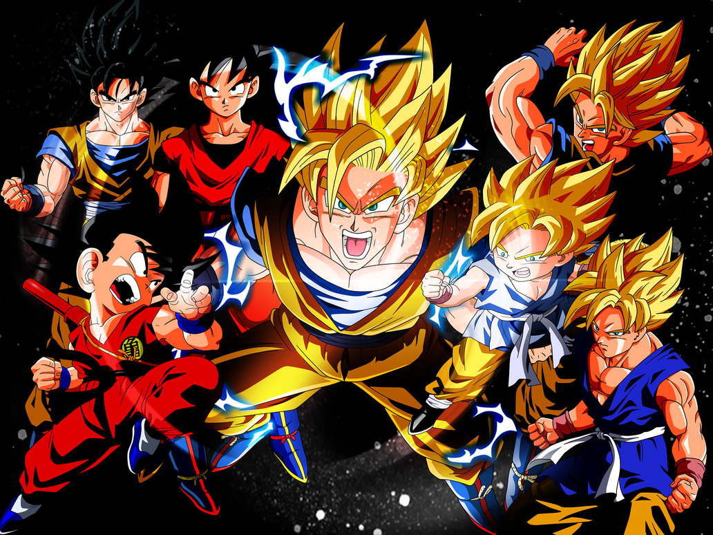 Goku Wallpaper by acidlullaby08 1032x774