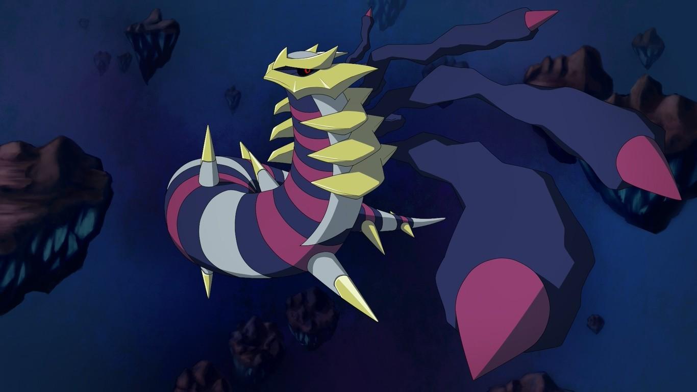 Giratina Pokemon Wallpaper 9674 1366x768