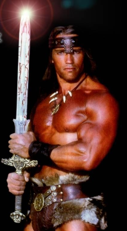 Conan the Barbarian wallpaper 423x768