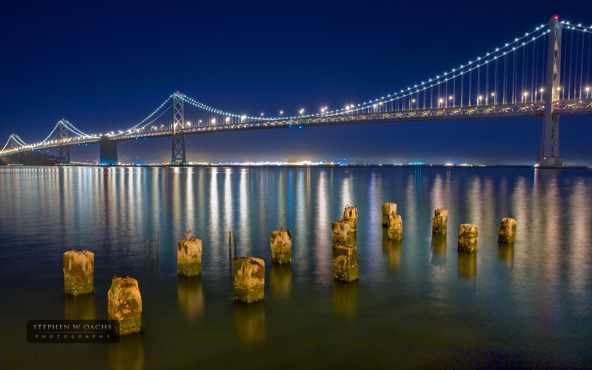 San Francisco Bay Bridge wallpaper   125613 1920x1200