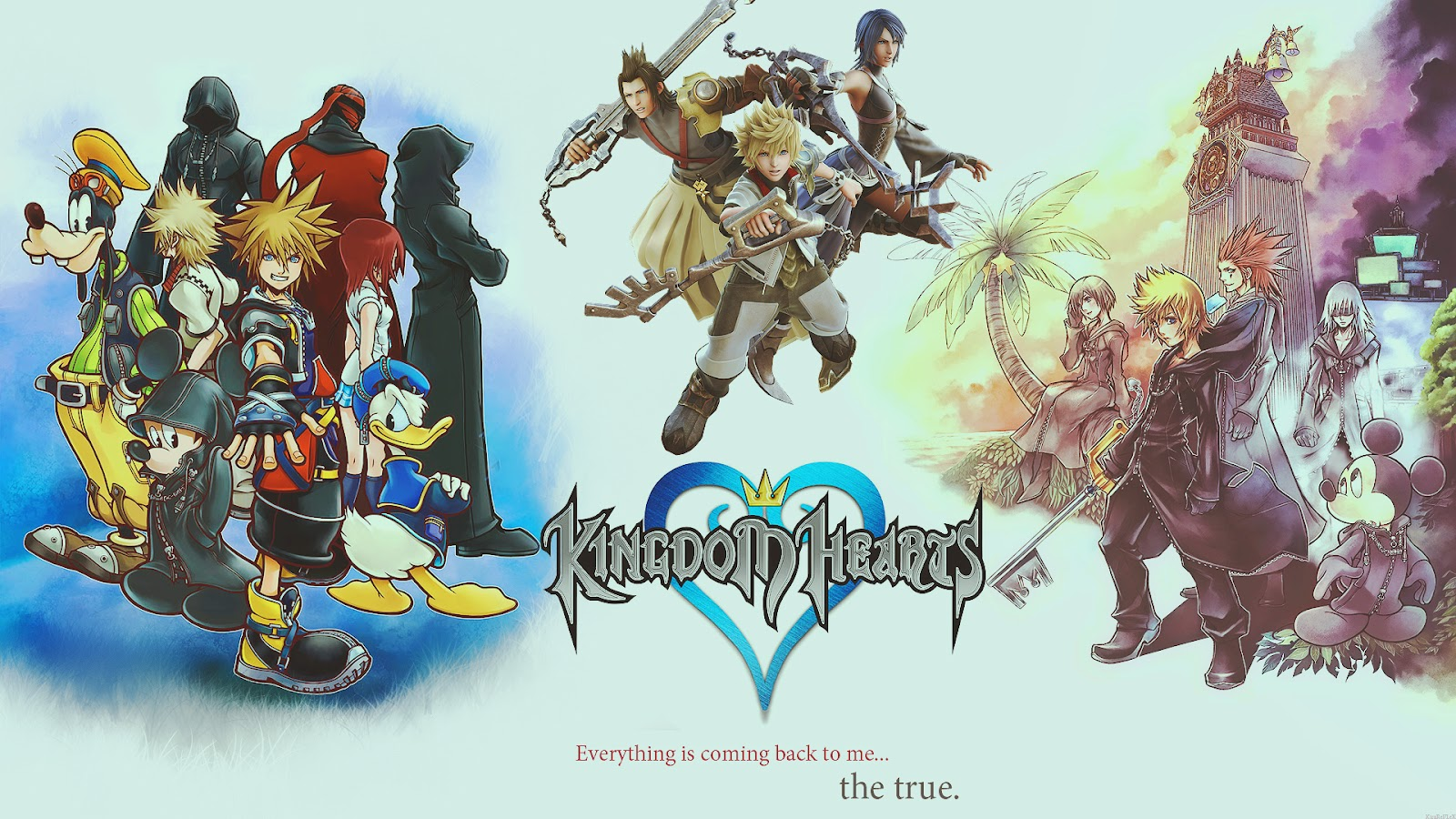 More Cool Kingdom Hearts Wallpapers 1600x900