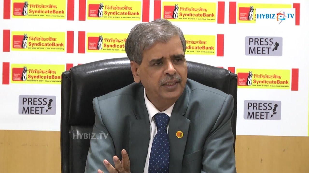 Mohan Reddy Syndicate Bank FGM At Financial Year 2014 15 Results 1920x1080