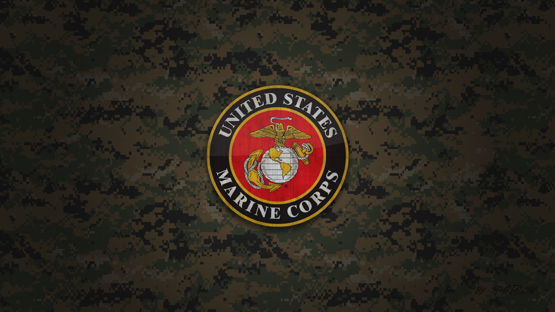 US Marine Corps Wallpaper by SpartanSix by SpartanSix 1920x1080