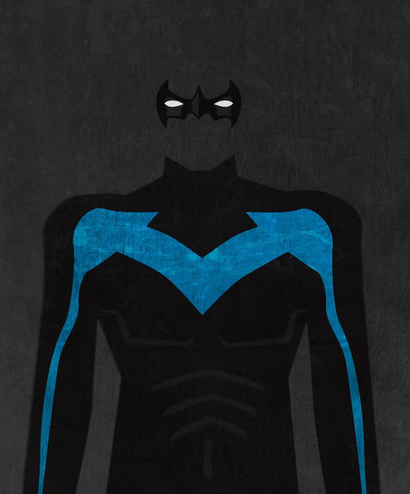 Nightwing Logo Wallpaper 800x964