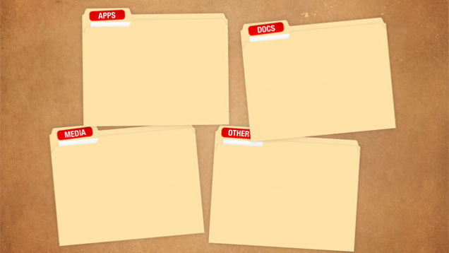 Your Desktop Neat and Tidy With These Built in Organization Wallpapers 636x358