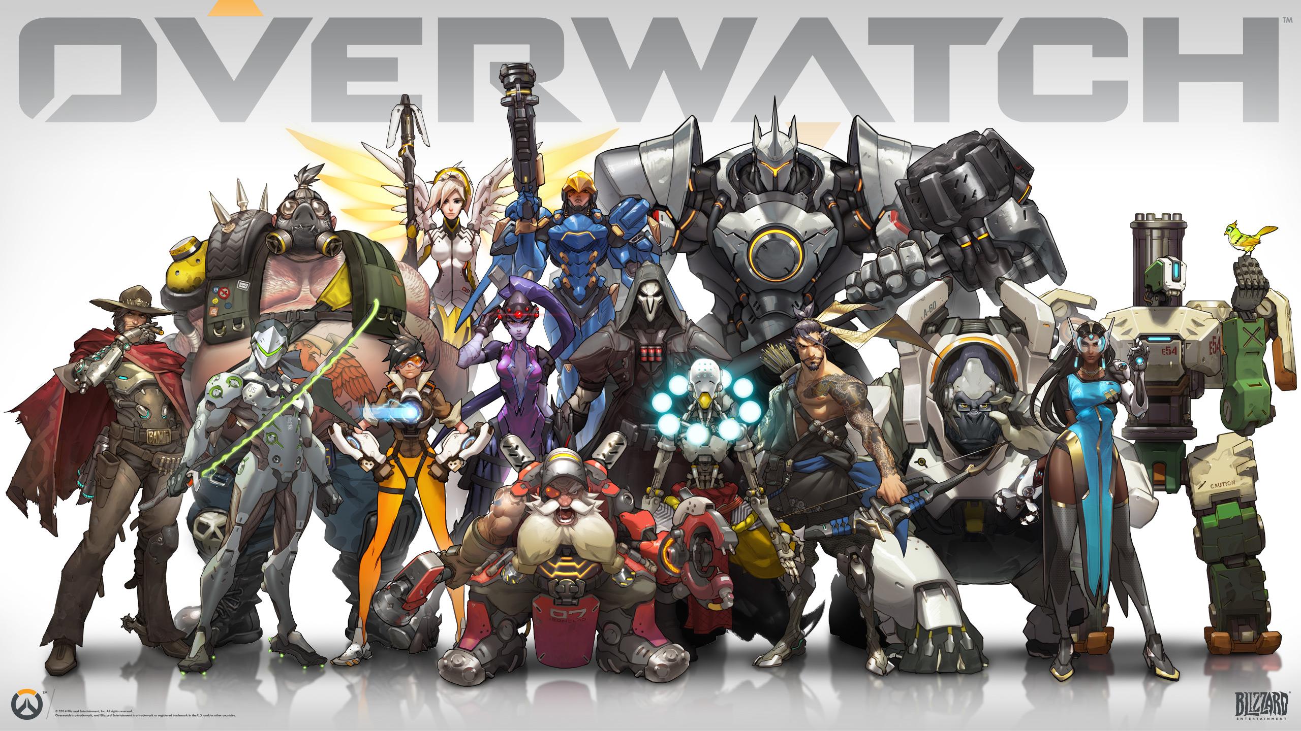 Overwatch Wallpaper 2560x1440