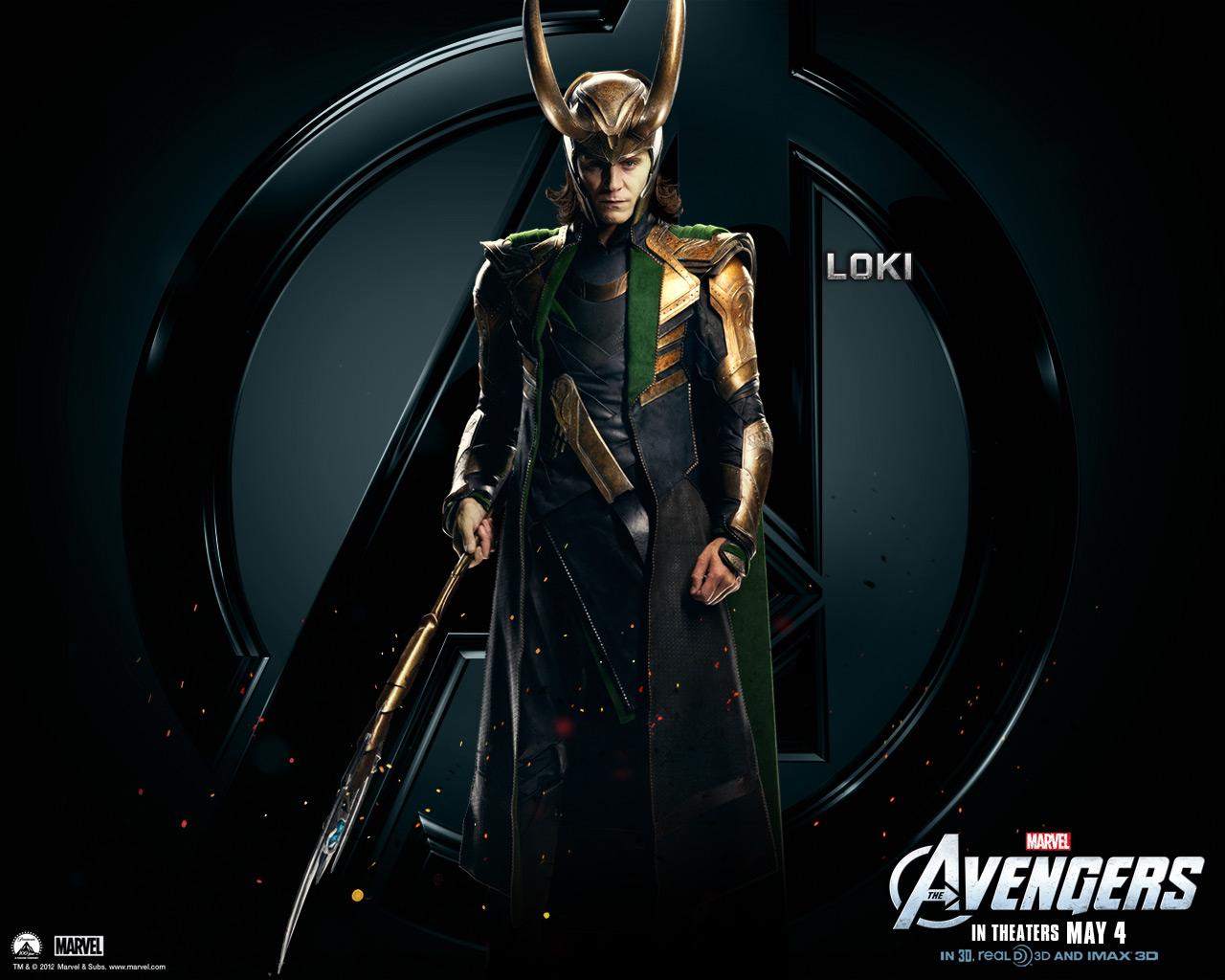 Loki   The Avengers Wallpaper 30730363 1280x1024