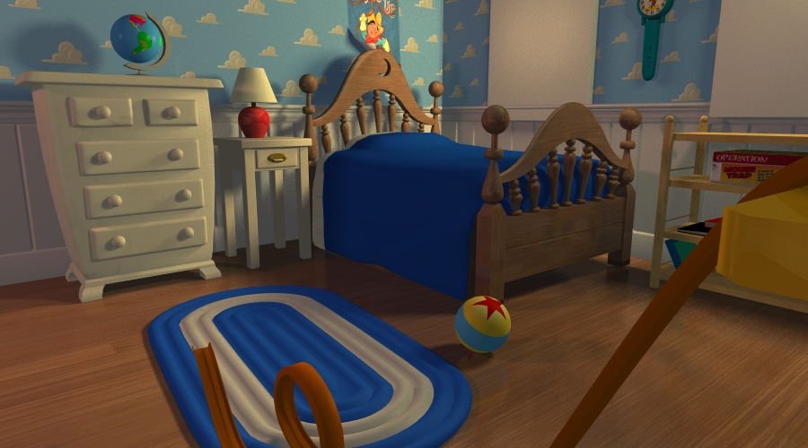 Andy s Room by gmcube on Deviant. Andy s Wallpaper Toy Story   WallpaperSafari