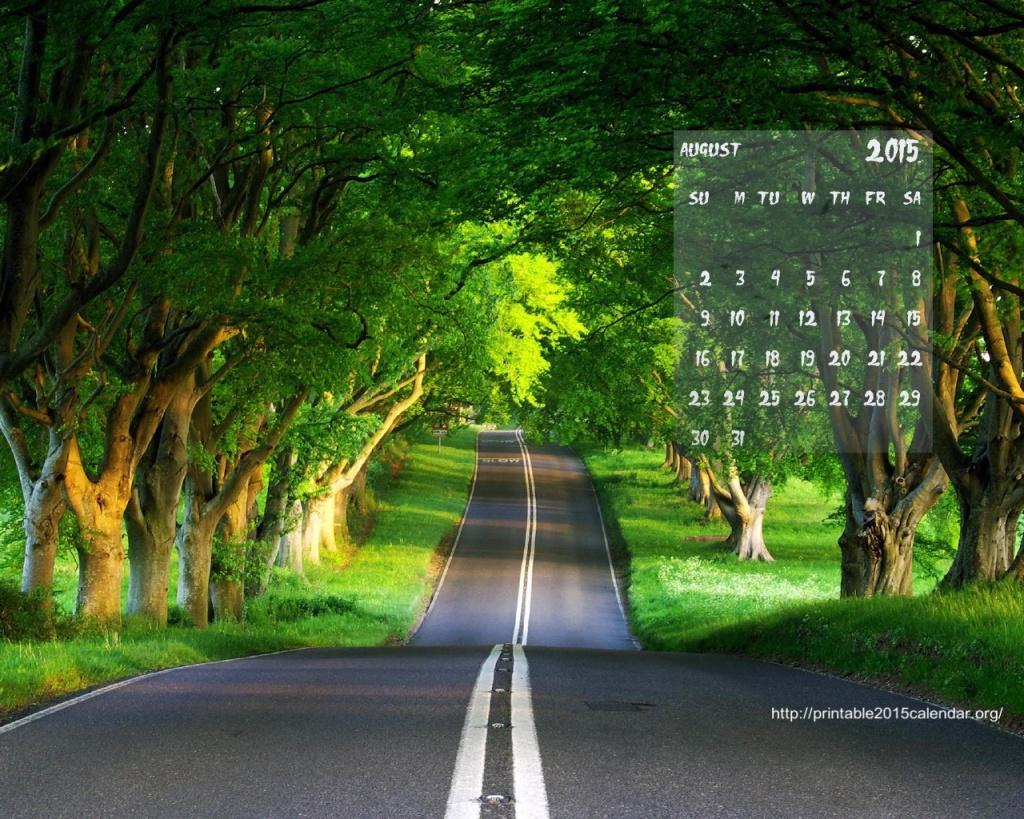 2015 Monthly Calendar Wallpaper 1024x819
