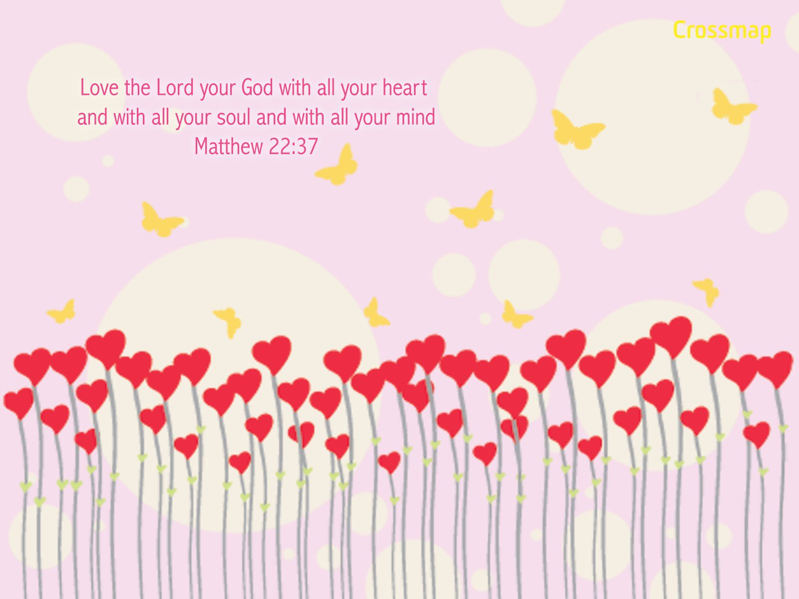 With all your heart Christian Illustrations Crossmap Christian 1600x1200