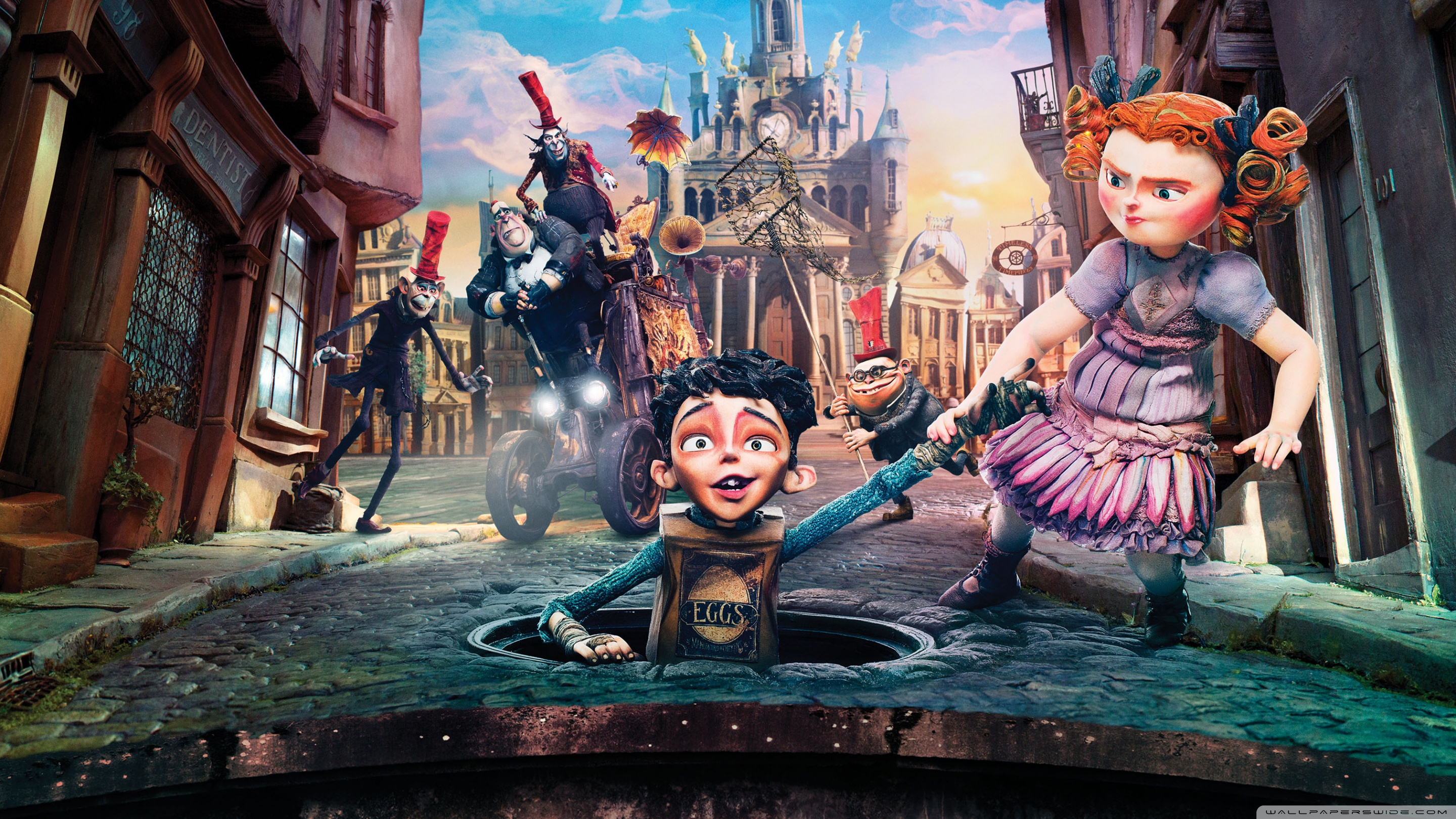 The Boxtrolls Wallpapers and Background Images   stmednet 2880x1620